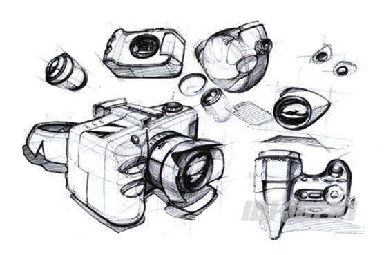 天津工业产品手绘表现培训2